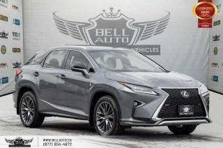 Used 2017 Lexus RX 350 F-SPORT 2, NO ACCIDENT, AWD, NAVI, REAR CAM, B.SPOT for sale in Toronto, ON