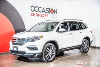 Used 2017 Honda Pilot Touring AWD+DVD+TOIT PANO+SIEGES CHAUFF/CLIM+NAVI for sale in Laval, QC