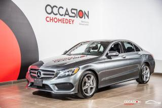 Used 2017 Mercedes-Benz C-Class C300+TOIT PANO+CUIR+NAVI for sale in Laval, QC