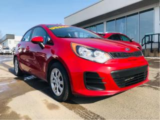 Used 2016 Kia Rio 5dr HB Man LX+ for sale in Lévis, QC
