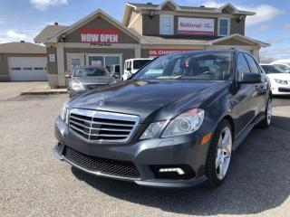 Used 2011 Mercedes-Benz E-Class 4MATIC SPORT for sale in Ottawa, ON