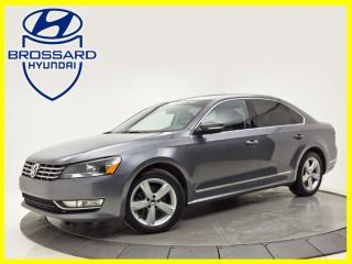 Used 2015 Volkswagen Passat TDI CUIR NAV TOIT OUVRANT BLUETOOTH for sale in Brossard, QC