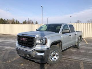 Used 2017 GMC Sierra 1500 WT CREW 4WD for sale in Cayuga, ON