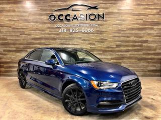 Used 2015 Audi A3 2.0T Technik quattro berline 4 portes for sale in Ste-Brigitte-de-Laval, QC