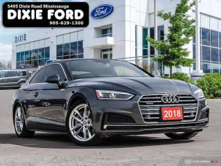 Used 2018 Audi A5 2.0 Progressiv for sale in Mississauga, ON