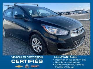Used 2013 Hyundai Accent GL for sale in Amos, QC
