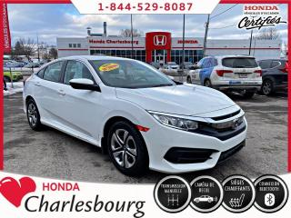 Used 2017 Honda Civic LX **MANUEL**AUCUN ACCIDENT** for sale in Charlesbourg, QC