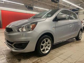 Used 2017 Mitsubishi Mirage *ES*BLUETOOTH*A/C*COMMANDE AU VOLANT* for sale in Québec, QC