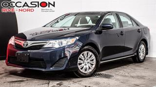 Used 2014 Toyota Camry LE CAM.RECUL+BLUETOOTH+A/C for sale in Boisbriand, QC