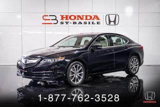 Used 2017 Acura TLX TECH + V6 + AWD + CUIR + NAVI + WOW! for sale in St-Basile-le-Grand, QC
