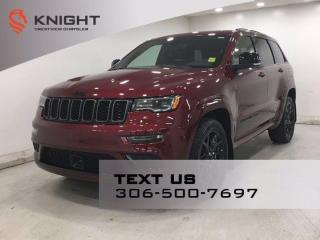 New 2021 Jeep Grand Cherokee Limited X | Leather | Sunroof | Navigation | for sale in Regina, SK