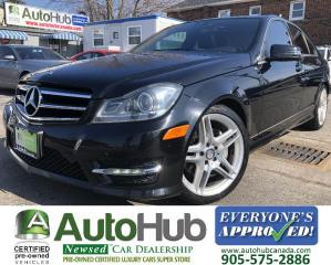 Used 2014 Mercedes-Benz C-Class C350 4MATIC/Premium&Sport Pkg/Nav/Pano. Roof/Back Up Camera! for sale in Hamilton, ON