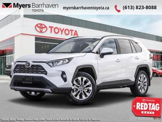 New 2021 Toyota RAV4 Limited  - Leather Seats -  Sunroof - $280 B/W for sale in Ottawa, ON