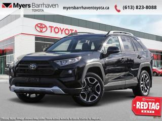 New 2021 Toyota RAV4 Trail  - Leather Seats -  Sunroof - $264 B/W for sale in Ottawa, ON