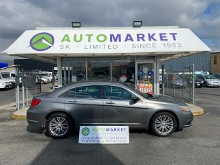 Used 2012 Chrysler 200 LIMITED LEATHER SUNROOF BLUETOOTH! IN HOUSE FINANCE IT! NO CREDIT REQ. for sale in Langley, BC