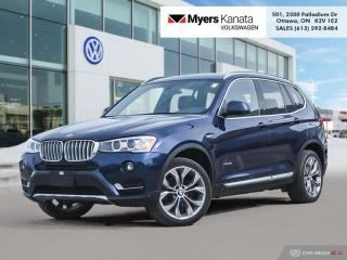 Used 2017 BMW X3 xDrive 28i  - Premium Package - Low Mileage for sale in Kanata, ON