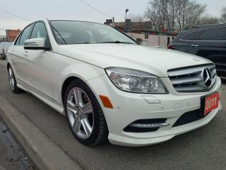 Used 2011 Mercedes-Benz C-Class C 300-AWD- 134K-LEATHER-SUNROOF-BLUETOOTH-ALLOYS for sale in Scarborough, ON