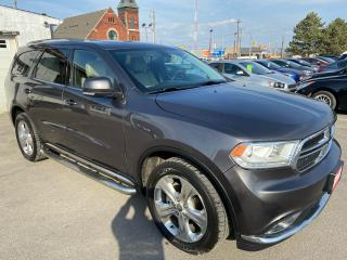 Used 2014 Dodge Durango Limited ** AWD, NAV, BACK CAM, AUTOSTART** for sale in St Catharines, ON