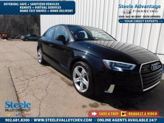 Used 2017 Audi A3 2.0T Komfort- AWD - HTD LEATHER - CRAZY LOW PAYMENTS !! for sale in Kentville, NS