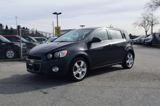 Used 2016 Chevrolet Sonic LT for sale in Coquitlam, BC