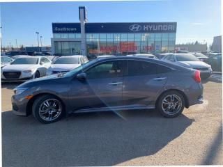 Used 2016 Honda Civic Sedan TOURING/LEATHER/NAVI/1.5L TURBO/BLIND SPOT for sale in Edmonton, AB