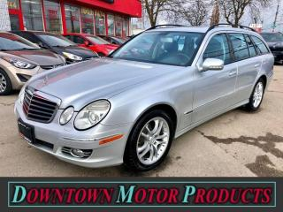 Used 2009 Mercedes-Benz E-Class E350 4MATIC Wagon for sale in London, ON