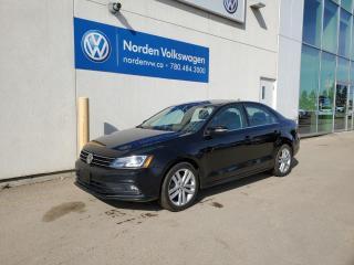 Used 2016 Volkswagen Jetta Sedan HIGHLINE W/ TECH PKG - NAVI / LEATHER / SUNROOF for sale in Edmonton, AB