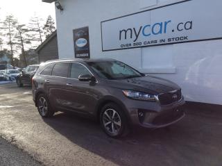 Used 2019 Kia Sorento 3.3L EX V6, 7PASS, LEATHER, HEATED SEATS, UNREAL DEAL!! PR for sale in Kingston, ON