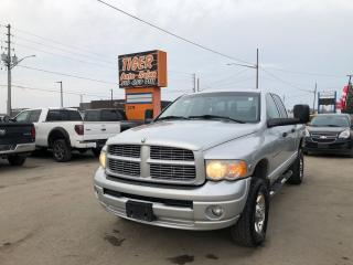 Used 2005 Dodge Ram 2500 SLT**CUMMINS DIESEL*RUST FREE*LEATHER*NO ACCIDENT for sale in London, ON