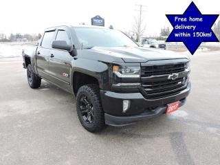 Used 2017 Chevrolet Silverado 1500 LTZ 5.3L Sunroof Navigation Leather Loaded for sale in Gorrie, ON