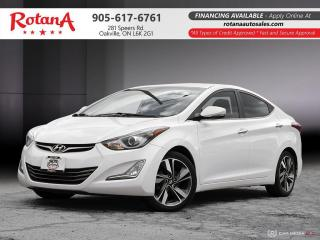 Used 2015 Hyundai Elantra Limited_Navi_Rear Cam_Bluetooth_Sunroof for sale in Oakville, ON