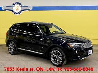 Used 2016 BMW X3 xDrive28d Navi, Pano Roof, 2 Years Warranty for sale in Vaughan, ON