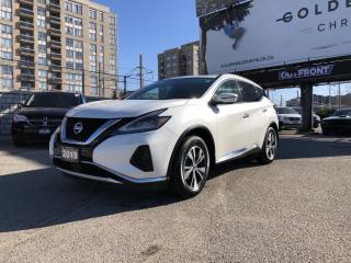 Used 2019 Nissan Murano Navi, Heated Seats, Heated Steering Wheel, Bluetooh, Pano Roof, Back up Cam! for sale in North York, ON