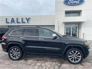 Used 2018 Jeep Grand Cherokee Limited, Loaded, Local Trade!!! for sale in Tilbury, ON