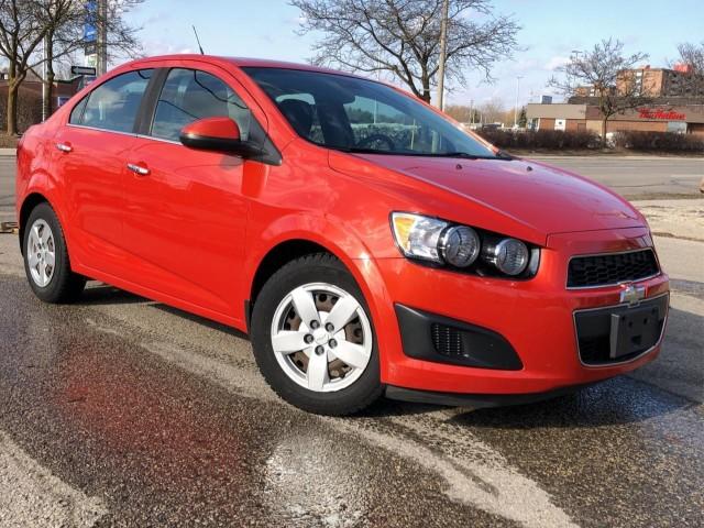 2012 Chevrolet Sonic 4dr Sdn Lt
