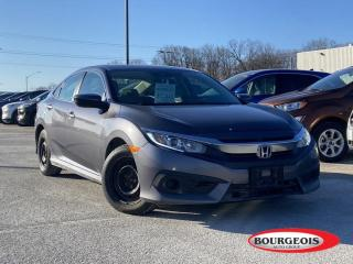 Used 2017 Honda Civic LX HEATED SEATS, REVERSE CAMERA for sale in Midland, ON