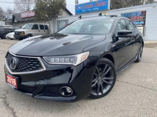 Used 2018 Acura TLX SH-AWD Tech A-Spec Sedan LOW KM, LIKE BRAND NEW for sale in Brampton, ON