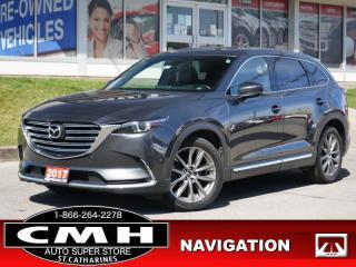 Used 2017 Mazda CX-9 GT  NAV ROOF LEATH HTD-S/W P/GATE 7-PASS 20-AL for sale in St. Catharines, ON