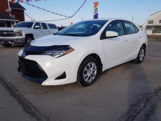 Used 2017 Toyota Corolla LE 34,000 kms! No accidents! for sale in Dunnville, ON