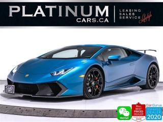 Used 2017 Lamborghini Huracan LP 580-2, RWD, VORSTEINER CARBON, CAM, HEATED for sale in Toronto, ON