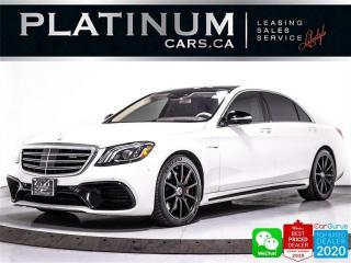 Used 2018 Mercedes-Benz S-Class AMG S63, 4MATIC+, DISTRONIC, NAV, MASSAGE SEATS for sale in Toronto, ON