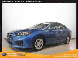Used 2017 Subaru Impreza Touring Awd *Caméra de recul* for sale in Laval, QC