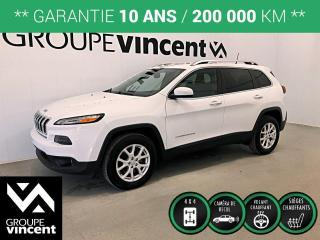 Used 2017 Jeep Cherokee ALTITUDE V6 4X4 ** GARANTIE 10 ANS ** VUS à quatre roues motrices, pratique et confortable! for sale in Shawinigan, QC