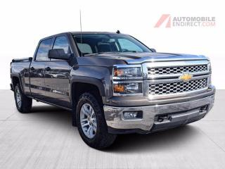Used 2014 Chevrolet Silverado 1500 LT Crew Cab 4X4 V8 Boîte 6 Pieds A/C Mags Caméra for sale in St-Hubert, QC