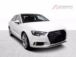 Used 2017 Audi A3 KOMFORT QUATTRO CUIR TOIT MAGS GROS ECRAN for sale in St-Hubert, QC