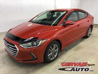 Used 2018 Hyundai Elantra GL MAGS A/C BLUETOOTH CAMÉRA *Transmission Automatique* for sale in Shawinigan, QC