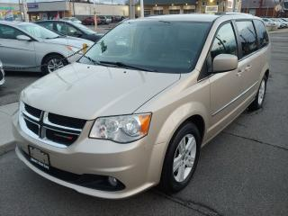 Used 2012 Dodge Grand Caravan Crew *NAVIGATION/BACK UP CAM/BLUETOOTH* for sale in Hamilton, ON