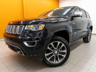 Used 2017 Jeep Grand Cherokee OVERLAND 4X4 RÉG ADAP ALERTES NAV CUIR *TOIT PANO* for sale in Mirabel, QC