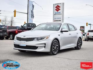Used 2016 Kia Optima EX ~Heated Leather ~Panoramic Roof ~Cam ~Bluetooth for sale in Barrie, ON