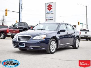 Used 2014 Chrysler 200 LX ~Power Windows + Locks ~A/C for sale in Barrie, ON
